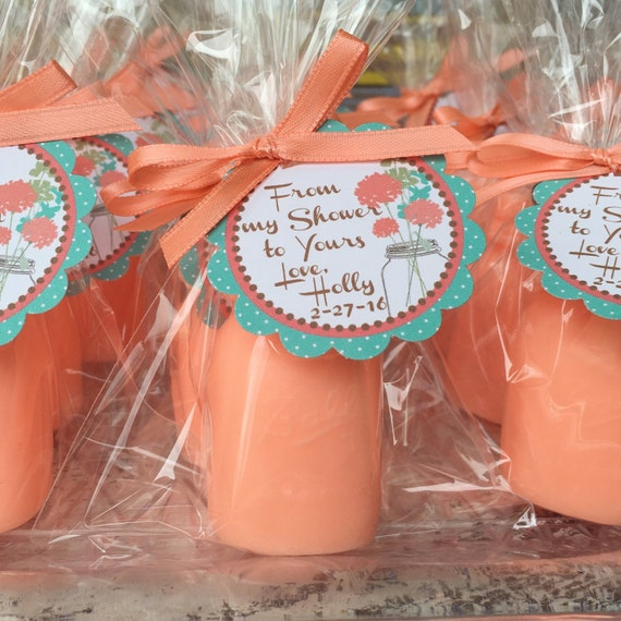 10 MASON JAR SOAPS {Favors}