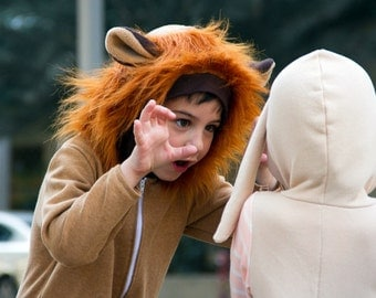 Lion Costume / Baby Costume/ Halloween baby Costume/ Kids Costume