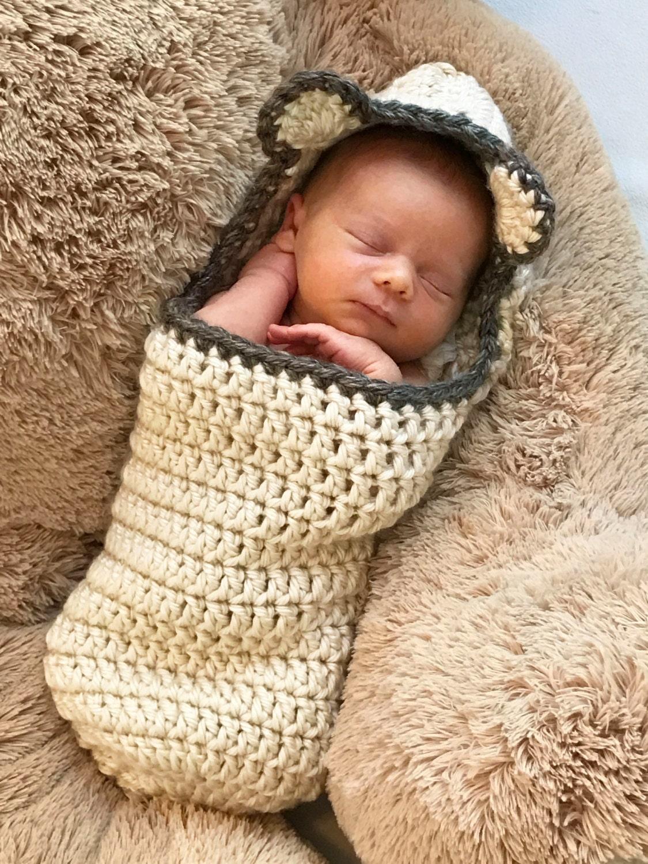 Crochet Cocoon Pattern Newborn Photo Prop Easy Crochet
