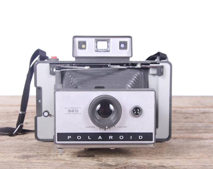 Polaroid 320 Land Camera / Folding Polaroid Camera / Polaroid Land Camera / Old Polaroid Camera / Vintage Polaroid Camera / Retro Polaroid