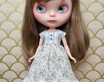 Blue Peasant Blythe Dress | Pullip Dress