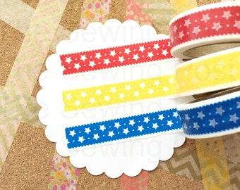 Washi Tape Set: Seeing Stars