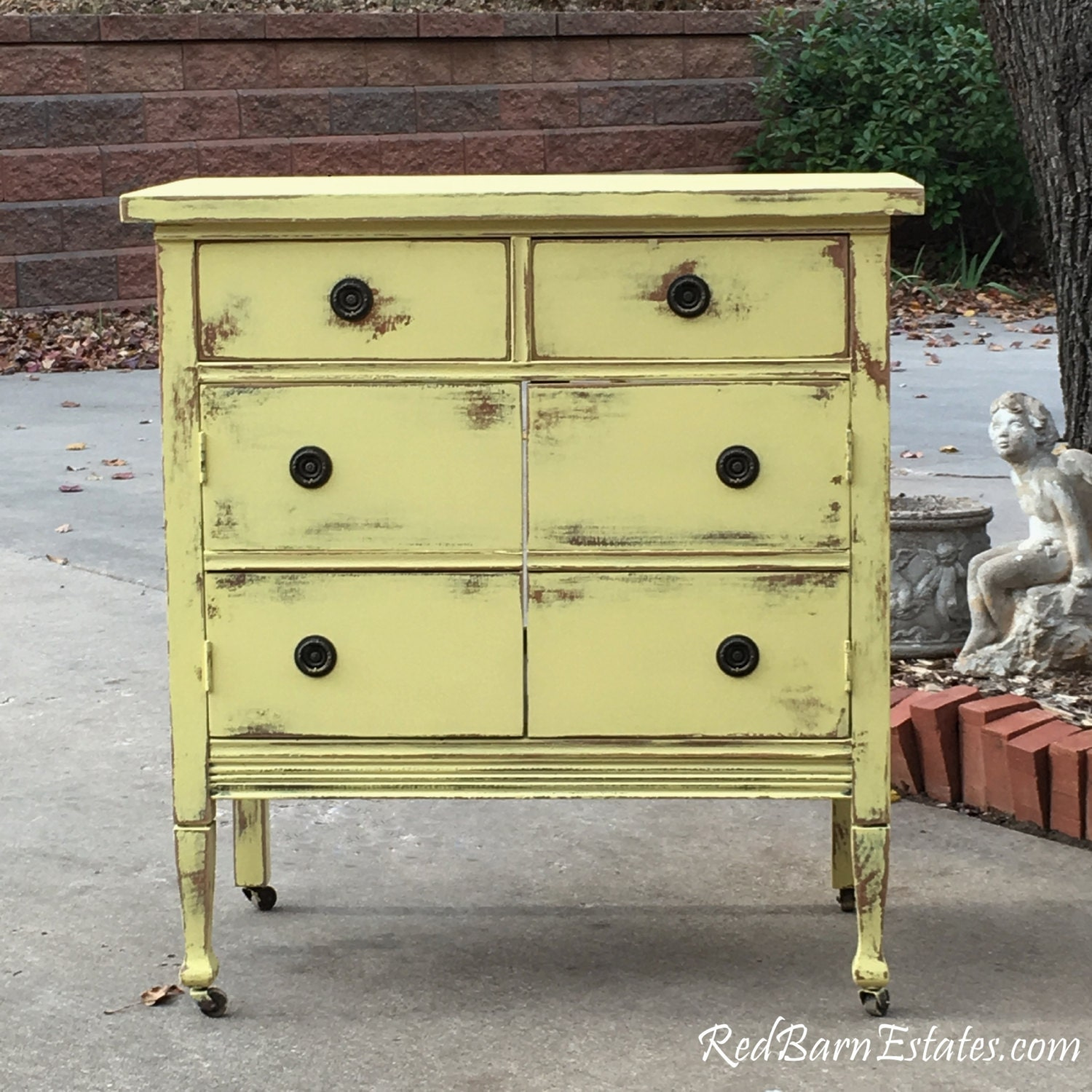 Antique Bathroom Vanity Cabinet: Antique Dresser BATH VANITY CABINET We Custom Convert From An