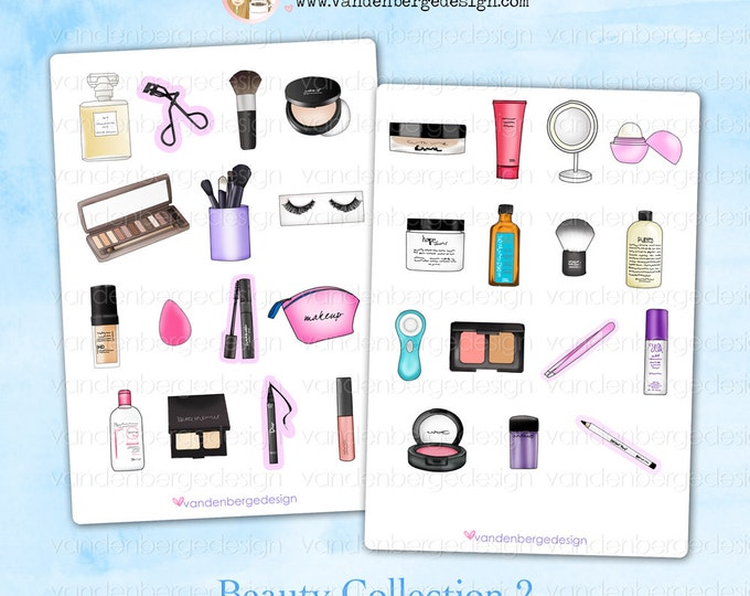 Sale! Planner  Stickers- Beauty Collection 2