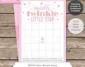 Twinkle Twinkle Little Star Baby Shower Game - Instant Download - Twinkle Twinkle Baby Shower - Twinkle Star Baby Shower Bingo Game