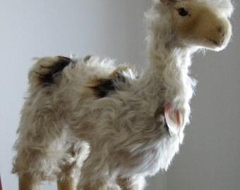 Large Steiff Lama Llama Vintage 27cm