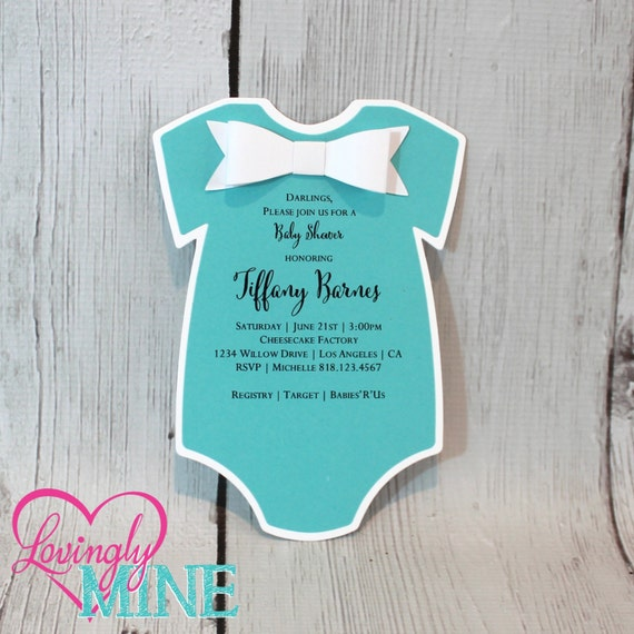 baby shower invitations set of 10 one piece body suit with, Baby shower invitations