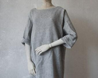 ALPACA & WOOL tunic dress