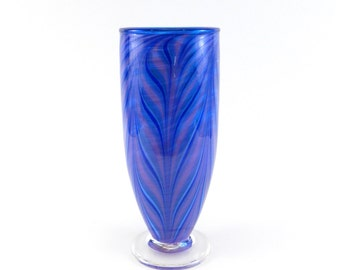 Purple Blown Glass Vase