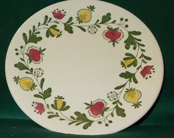 Johnson Brothers Dinner Plate Lot Of Four Gretchen Green Plates Old Granite Vintage Staffordshire Replacement China