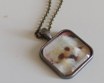 Custom Photo Charm Necklace - custom photo pendant - customizable