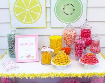 Feeling Fruity- This is Juice Party- PERSONALIZED Party Kit by Bloom