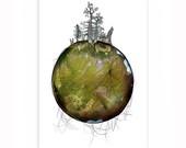 New World #138 - Art Print / Poster / Artwork & Danish Design