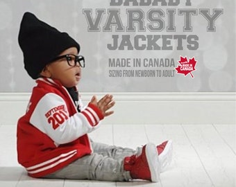 Toddler Varsity Jacket Personalized Kids Varsity Jacket By