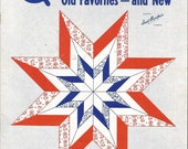 Vtg Booklet Aunt Martha  Quilt Designs  Old Favorites