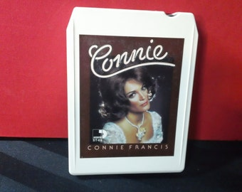 Sessions Presents: Connie ~ Connie Francis - ST 69 - 8-Track Tape Cartridge, compilation, double album (MGM Records,1975)