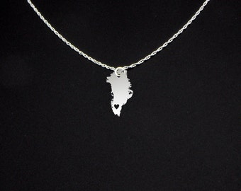 Greenland Necklace - Greenland Gift - Greenland Jewelry