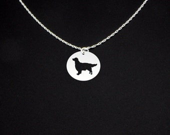Flat Coated Retriever Necklace - Flat Coated Retriever Jewelry - Flat Coated Retriever Gift