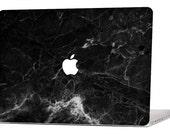 BLACK MARBLE MacBook Decal Macbook Stickers Macbook Skin Macbook Case Macbook Pro Cover Laptop Stickers Laptop Skin Laptop Decal Case