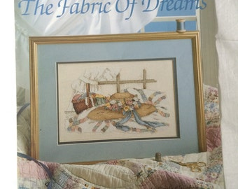 The Fabric of Dreams Counted Cross Stitch Pattern by Paula Vaughan Book 13