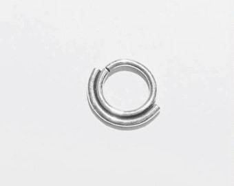 Double Sterling Septum ring