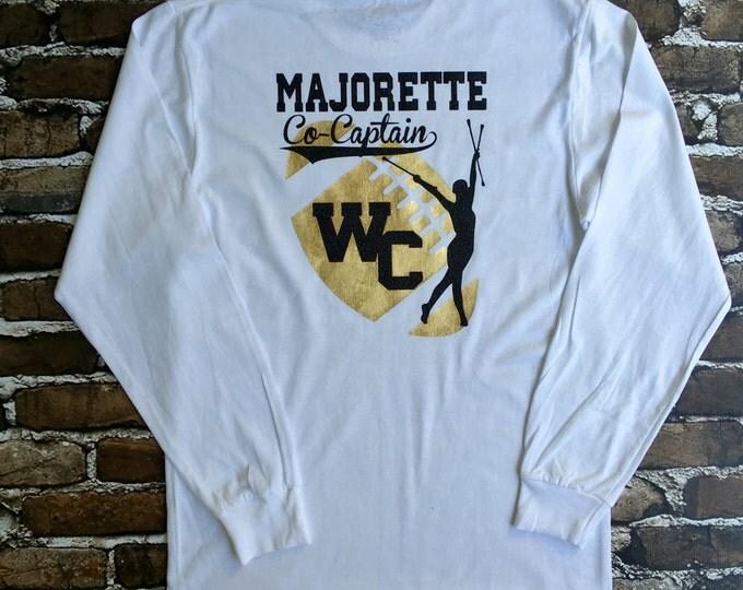 Custom Majorette tee shirt, Cheerleader T shirt, Game day shirt, School Spirit T shirt, Custom Tshirt, Monogrammed Gifts