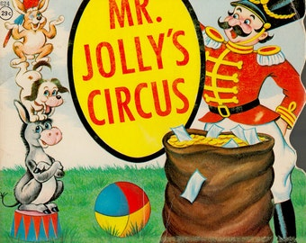 Mr. Jolly's Circus (a vintage picture book).