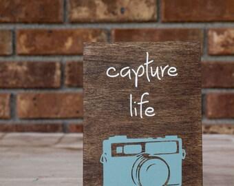 Capture life sign