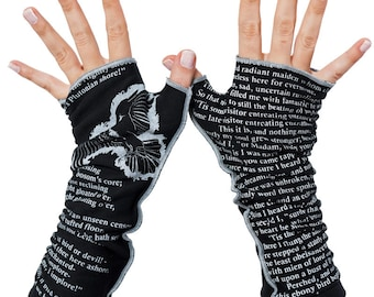 The Raven Writing Gloves