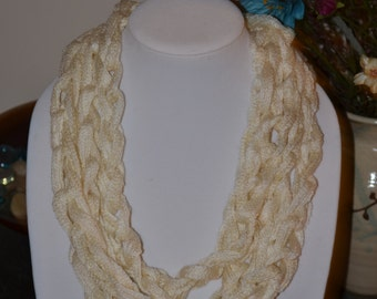 Ivory Chain Scarf/Necklace - Many Colors Available!