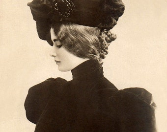 Actress And Dancer Cleo de Merode - New 4x6 Vintage Postcard Image Photo Print - CM006