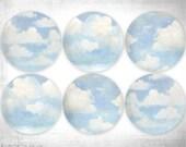 Custom listing for K.King, Blue skies melamine dinnerware