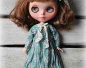 Handmade cotton dress for Blythe * For Pure Neemo Body size* Dress Outfit Sweet Vintage Style Fashion Blythe