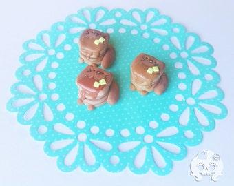 Pawwcakes Polymer Clay Kitty Kawaii Charm