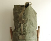 1945 Military Duffle Field Bag Extra Large