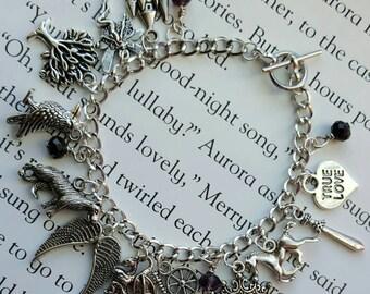 Maleficent Charm Bracelet