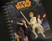 2016-17 Academic Calendar Planner Star Wars A New Hope Little Golden Book Recycled OR Other LGB