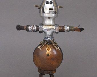 ROBOT SCULPTURE - Metal robot sculpture Metal art sculpture  - Tyrell