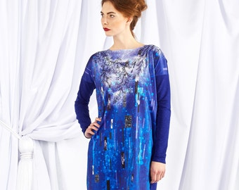 Touch of the Frost - oversize dress