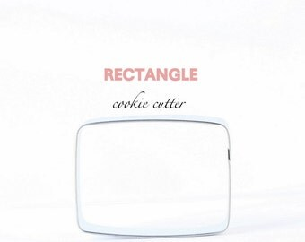Rectangle Cookie Cutter, Square, Shape Cookies, Cookie Cutters
