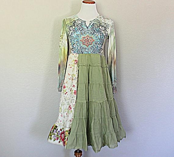 Ragdoll Women's Dress / Upcycled Women's Junior's