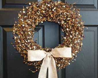 spring wreath pip berry wreaths fall wreaths for front door wreaths outdoor welcome weddings wreaths for front door wreaths Thanksgiving