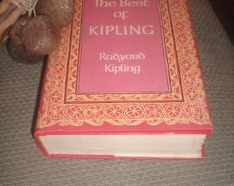 Vintage Best of Rudyard Kipling Book