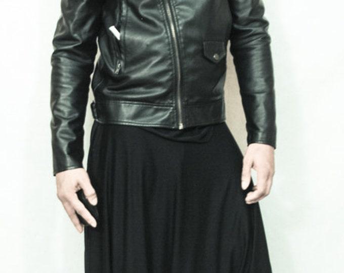 Black Harem Pants TrousersYoga pants Stretch Jersey (Unisex) One Size Fit All