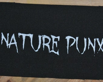 Nature Punx Patch (Black)