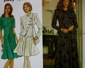 Four Gore Flared Skirt andTop Sewing Pattern, Simplicity 8118, UNCUT