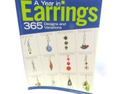 Earrings, Jewelry Book, Earring Jewelry Book, Instructional Jewelry Design Manual, Reference Book