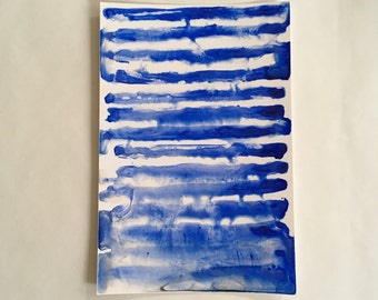 If - Experimental Watercolor on Glossy Paper