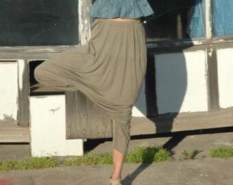 Gray Aladdin Pants