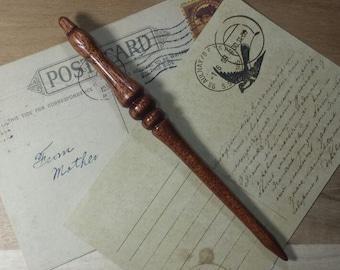 Handturned Shawl/Hair Pin/Hair Stick- Rosewood - 17cm/6.69Long